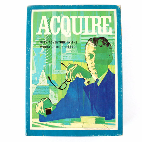 Vintage Acquire Game by Avalon Hill Game Co. (c.1976) - ThirdShiftVintage.com