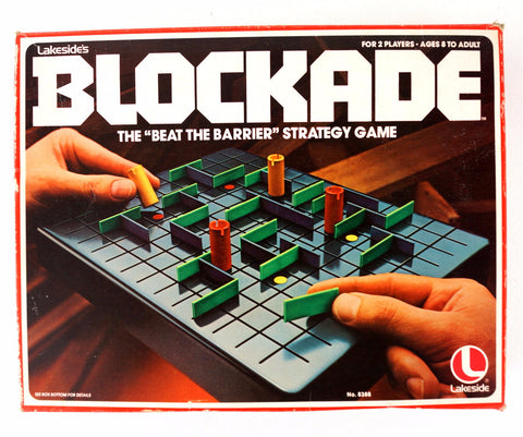 Vintage Blockade Game by Lakeside Games (c.1979) - ThirdShiftVintage.com