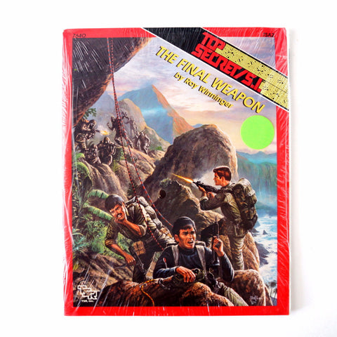 "Vintage Top Secret / S.I. ""The Final Weapon"" Role Playing Book by TSR, Inc. (1980s) - ThirdShift Vintage"