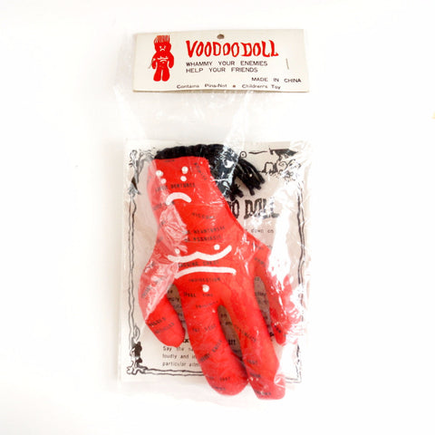 Vintage Female Voodoo Doll Novelty in Original Package (c.1970s) N2 - thirdshift