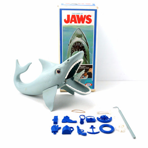 "Vintage ""The Game of Jaws"" Shark Game from Ideal (c.1975) N2 - ThirdShiftVintage.com"