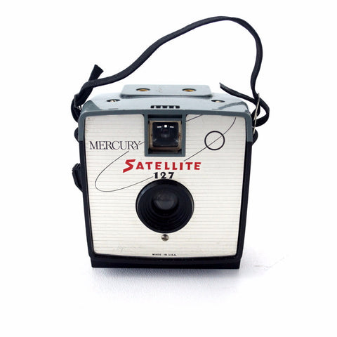 Vintage Mercury Satellite 127 Camera (c.1964) - ThirdShiftVintage.com