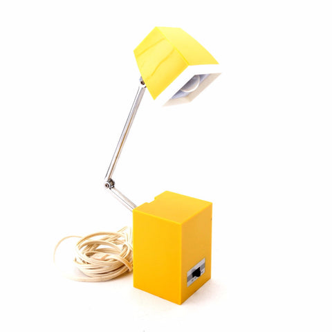 Vintage Retro Folding Lamp Cube by Hamilton Industries (c.1960s) - ThirdShift Vintage