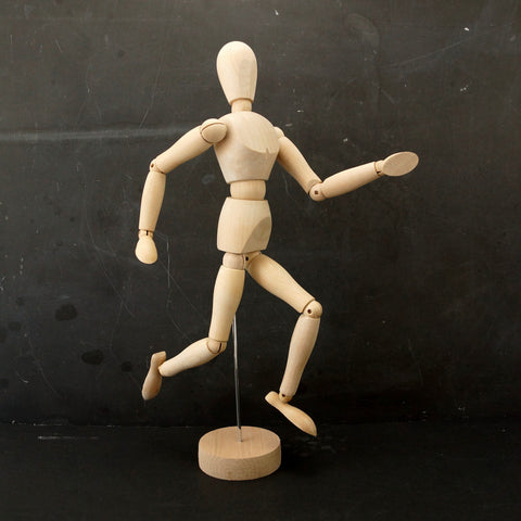 "Wood Manikin / Mannequin (12"" high) - thirdshift"