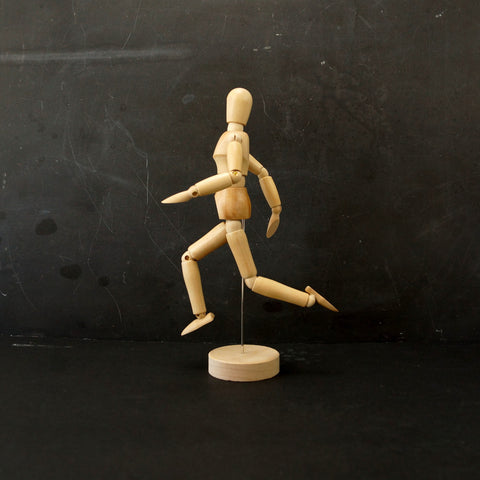 "Wood Manikin / Mannequin (8"" high) - thirdshift"