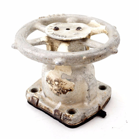 Vintage Battleship Valve from Royal Canadian Navy Battleship (c.1950s) - ThirdShiftVintage.com