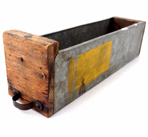 Vintage Wood and Metal Hardware Parts Drawer N5 (c.1940s) - ThirdShiftVintage.com