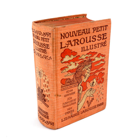 Vintage 1927 Nouveau Petit Larousse Illustre French Illustrated Dictionary (c.1927) - ThirdShift Vintage