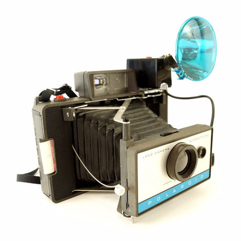 Vintage Polaroid 210 Automatic Land Camera Outfit (c.1968) - ThirdShift Vintage