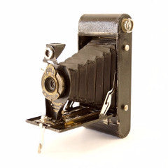 Vintage Kodak No 2A Folding Autographic Brownie Camera (c.1916) - ThirdShiftVintage.com