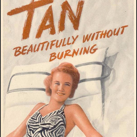 "Digital Download ""Skol Suntan Lotion"" Ad (c.1939) - Instant Download Printable - ThirdShiftVintage.com"
