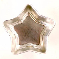 Vintage Aluminum Star Shaped Jello Mold in Silver, Set of 13 (c.1970s)