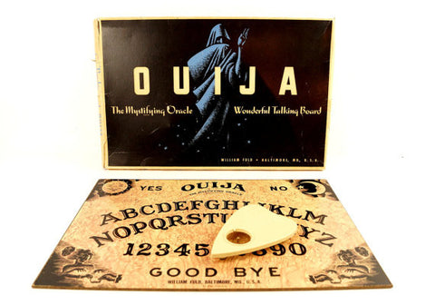 Vintage Original Ouija Board by William Fuld (c.1930-40s) - ThirdShiftVintage.com