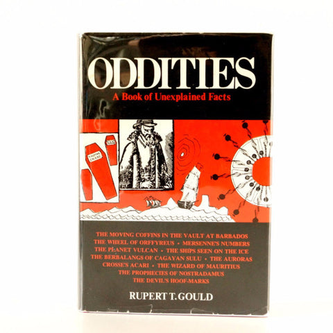 "Vintage ""Oddities, A Book of Unexplained Facts"", Third Edition (c.1964) - ThirdShift Vintage"