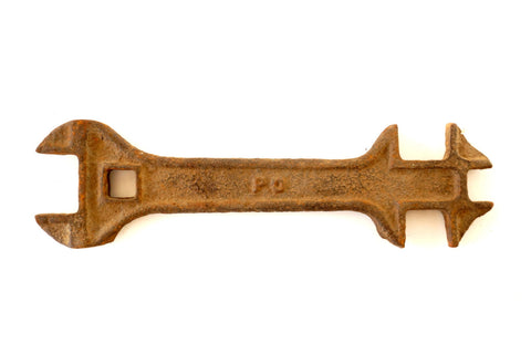 Vintage / Antique P & O Co. Wrench 113 (c.1900s) - ThirdShift Vintage
