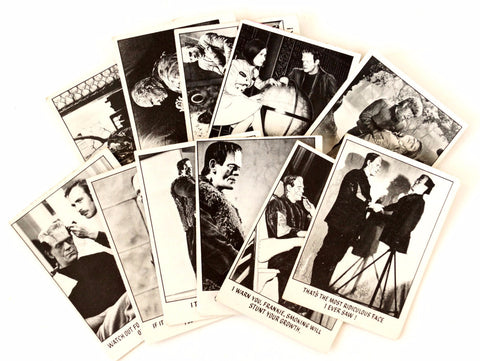 "Vintage ""You'll Die Laughing"" Trading Cards, Set of 11 (c.1970s) N1 - ThirdShift Vintage"