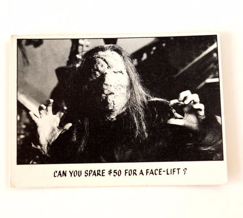 "Vintage ""You'll Die Laughing"" Trading Card #44 by Topps (c.1973) - thirdshift"