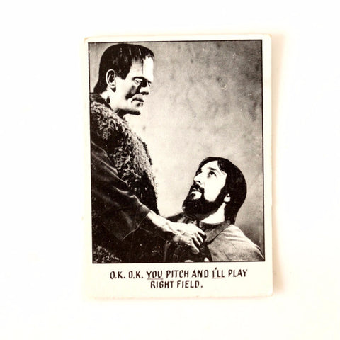 "Vintage ""You'll Die Laughing"" Trading Card #10 by Topps (c.1973) - ThirdShift Vintage"