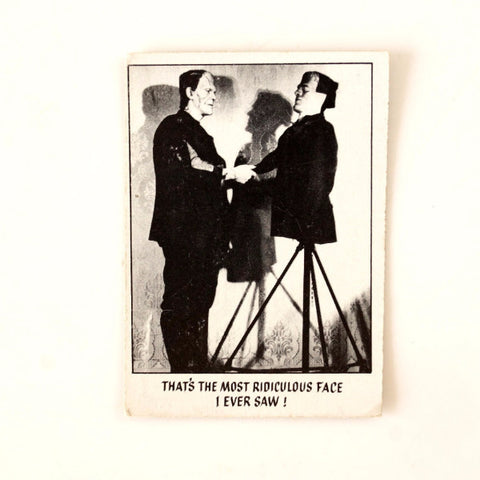 "Vintage ""You'll Die Laughing"" Trading Card #5 by Topps (c.1973) - thirdshift"