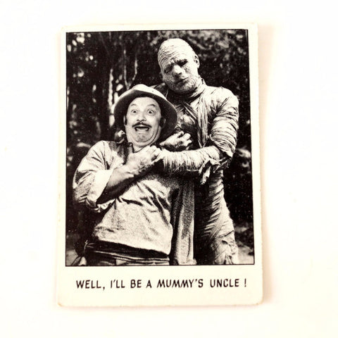 "Vintage ""You'll Die Laughing"" Trading Card #102 by Topps (c.1973) - thirdshift"