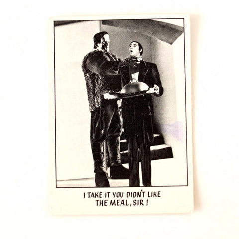 "Vintage ""You'll Die Laughing"" Trading Card #12 by Topps (c.1973) - ThirdShiftVintage.com"