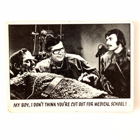 "Vintage ""You'll Die Laughing"" Trading Card #11 by Topps (c.1973) - ThirdShiftVintage.com"