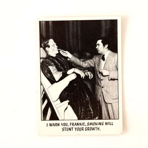 "Vintage ""You'll Die Laughing"" Trading Card #7 by Topps (c.1973) - ThirdShiftVintage.com"