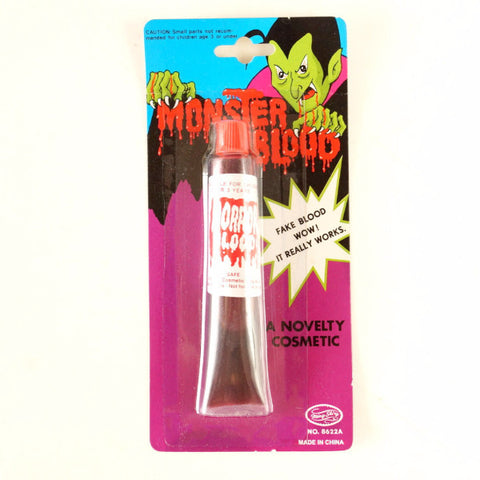 Vintage Halloween Monster Blood Collectible in Original Package (c.1980s) - thirdshift