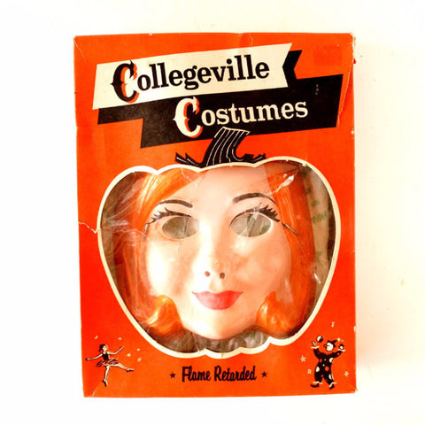 Vintage Collegeville Costumes Fairy Queen in Complete in Original Box, Size 12 M (c.1950s)