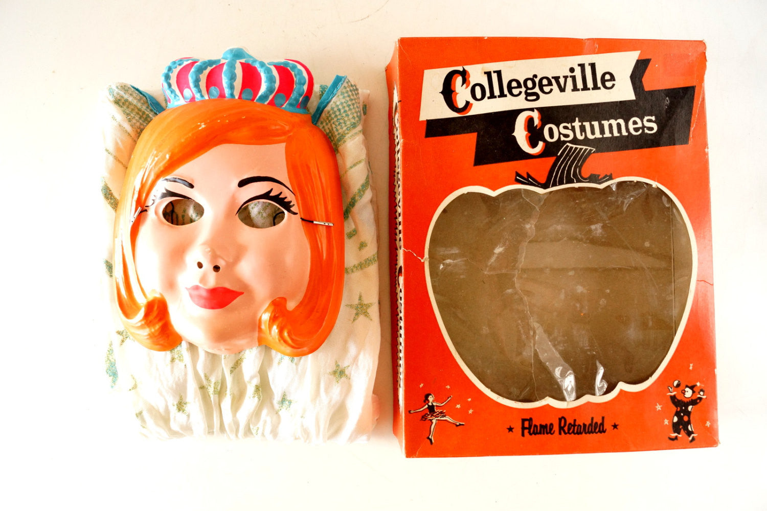 Vintage Halloween Costumes In A Box.Vintage Collegeville Costumes Fairy Queen In Complete In Original