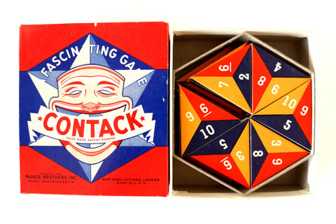 Vintage Contack Game, Complete in Original Box (c.1939)