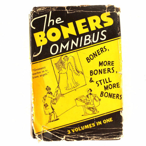 "Vintage ""The Boners Omnibus"" Book, 3 volumes in one, illustrated by Dr. Seuss (c.1931) - ThirdShift Vintage"