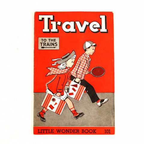 "Vintage ""Travel"" Little Wonder Book No. 101 (c.1951) - ThirdShift Vintage"