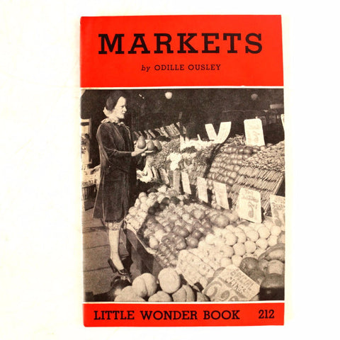 "Vintage ""Markets"" Little Wonder Book No. 212 (c.1951) - ThirdShiftVintage.com"