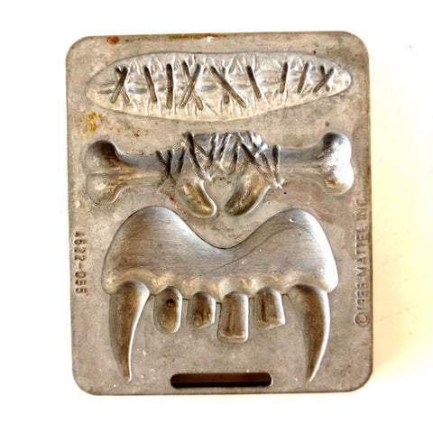Vintage Fright Factory Fangs, Scar, Nosebone Mold for Mattel Thingmaker #4522-055 (c.1966) - ThirdShiftVintage.com