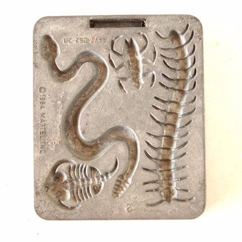 Vintage Creepy Crawlers Snake Millipede Mold, Mattel Thingmaker #4477-052 (c.1964) E - thirdshift