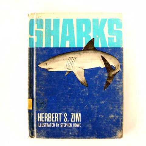 "Vintage ""Sharks"" by Herbert S. Zim (c.1966) - ThirdShift Vintage"