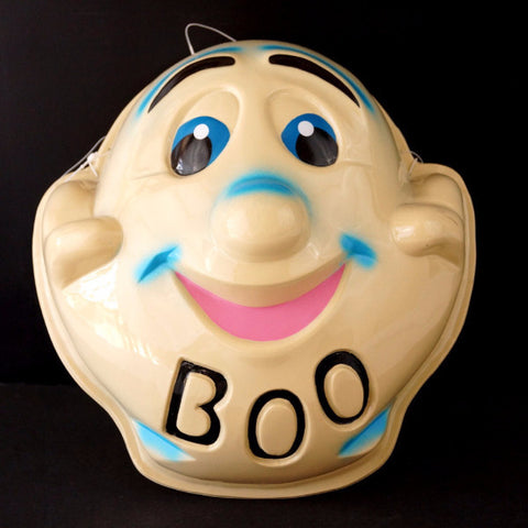 "Vintage Ghost Mask ""BOO"" for Halloween (c1950s) N3 - ThirdShiftVintage.com"