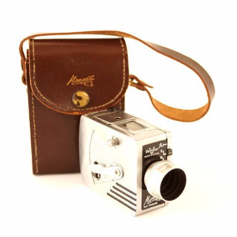 Vintage Universal Camera Minute 16, Sub-Miniature Camera with Original Case (c.1949) - ThirdShift Vintage