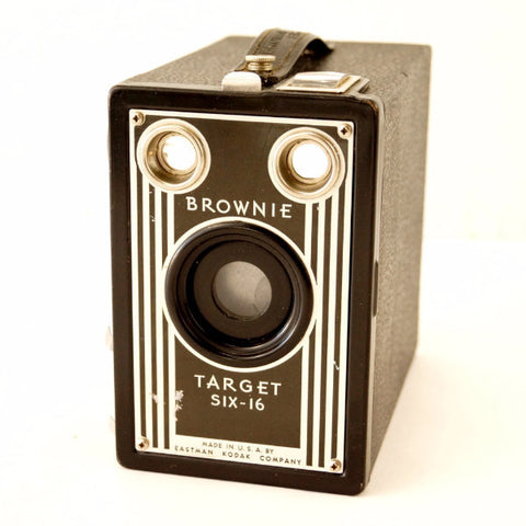 Vintage Kodak Brownie Target Six-16 Camera (c.1946) - ThirdShiftVintage.com