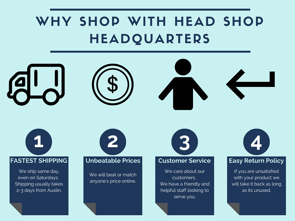 why shop at online headshop