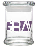 8oz Gravitron Glass Jar Grav Labs - Head Shop Headquarters