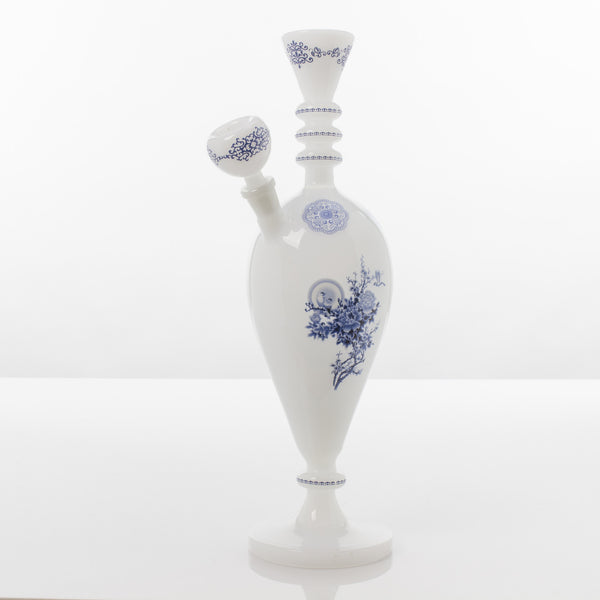 "China Glass ""Wu"" Dynasty Vase Water Pipe The China Glass - Head Shop Headquarters"