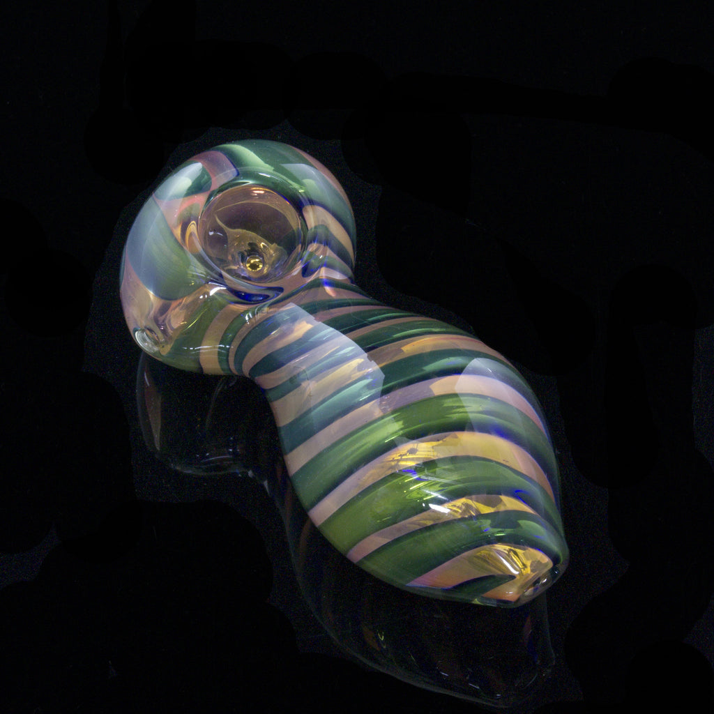 4.25inch Egg Fumed Inside-Out Pipe Glassheads - Head Shop Headquarters