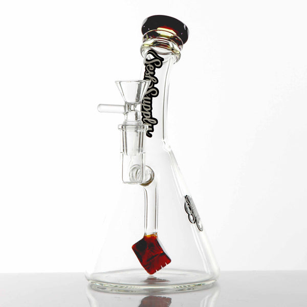 Sesh Supply - Beaker Base with Cube Perc