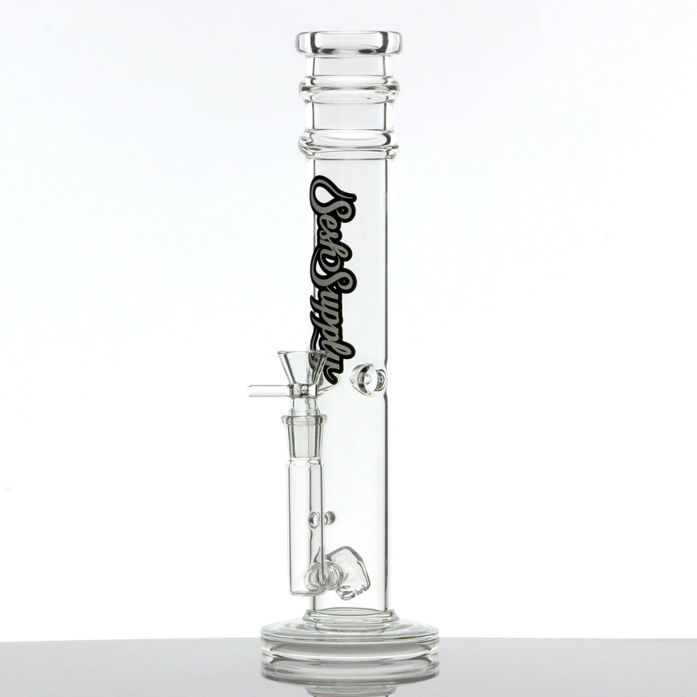 Sesh Supply - Straight Tube With Cube Perc
