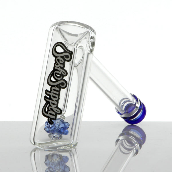 Sesh Supply - Bubbler with Propeller Perc Various Colors Sesh Supply - Head Shop Headquarters