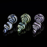 "UPC - 4"" Swirly Fumed Glass Hand Pipe Glassheads - Head Shop Headquarters"