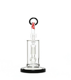 "6"" Dab Rig with Domeless Quartz Nail grav labs"