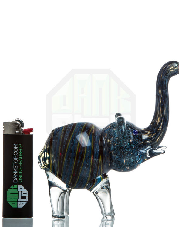 Glass Elephant Hand Pipe DankStop - Head Shop Headquarters